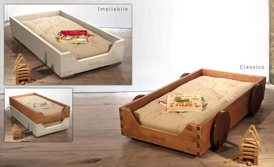Woodly mobili ecologici stile montessori - Letto montessori ...
